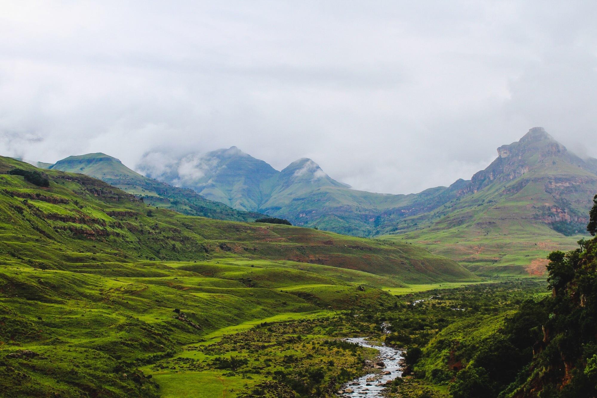 Drakensberg lanscape