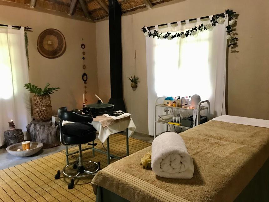 Massage room, Mogalakwena River Lodge, Limpopo