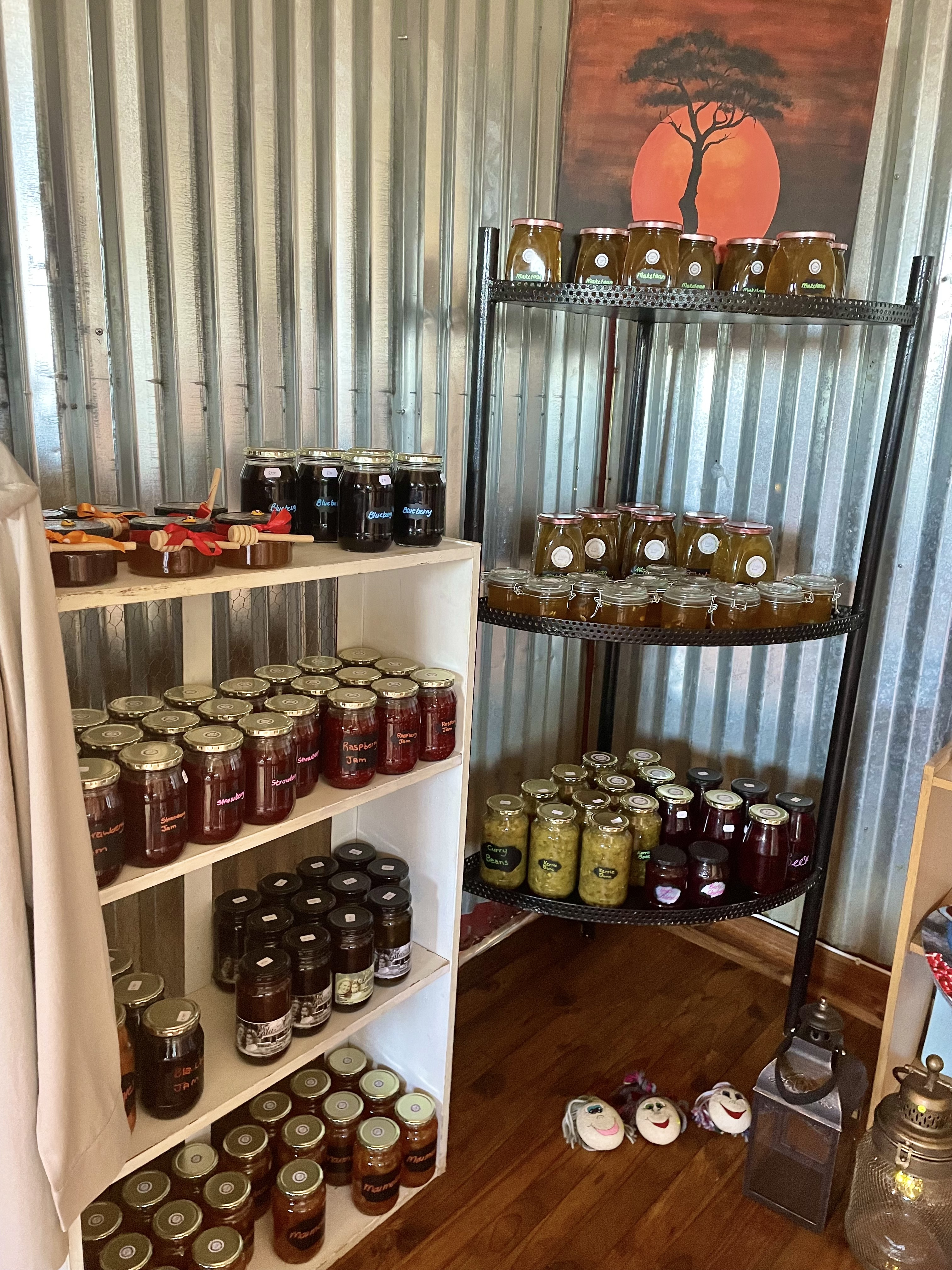 Curio shop at Dinokeng Game Reserve